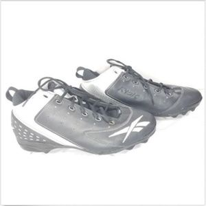 Reebok Shoes - Reebok RBK Baseball Cleats 15 Black Silver 400c02efd